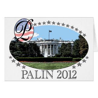 Palin White House 2012 Card