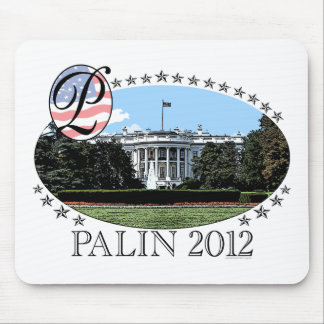 Palin White House 2012 Mouse Pad