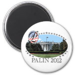 Palin White House 2012 Refrigerator Magnets