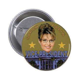Palin White House Button