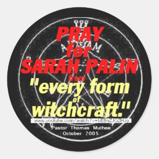 Palin WITCHCRAFT Sticker