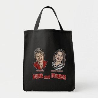 Palin y Bachmann mudos y más mudos Bolsas De Mano