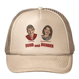 Palin y Bachmann mudos y más mudos Gorra
