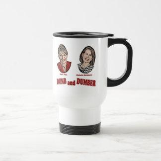Palin y Bachmann mudos y más mudos Taza De Café