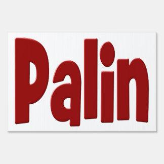 Palin Yard Sign
