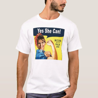 Palin Yes She Can T-Shirt