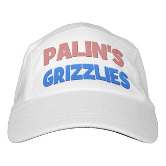 Palin's Grizzlies Performance Hat, pink & blue Hat