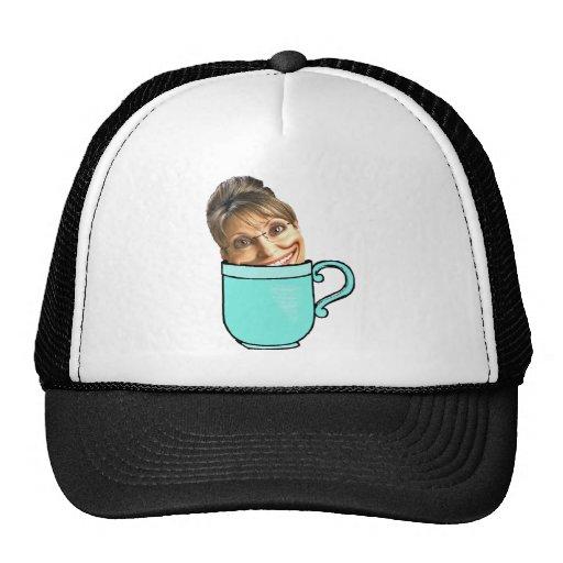 Palin's tea party trucker hat