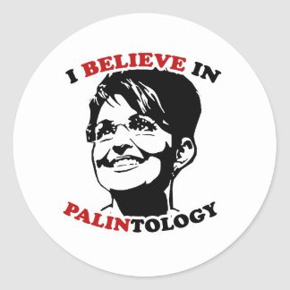 PALINtology Classic Round Sticker