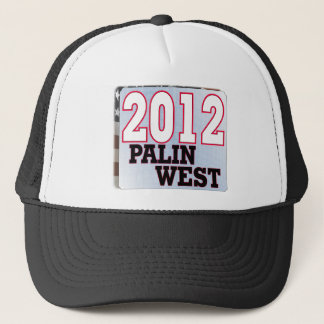 palinWEST 2012 tea PARTY GOP Trucker Hat