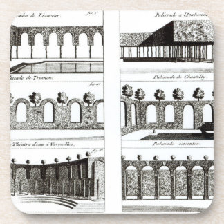 Palisade designs, from 'Theory and Practice of Gar Coaster