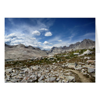 Palisade Lakes Basin - John Muir Trail Card