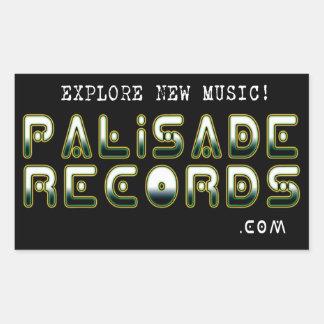 PALISADE RECORDS square sticker
