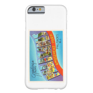 Palisades New Jersey NJ Vintage Travel Postcard- Barely There iPhone 6 Case