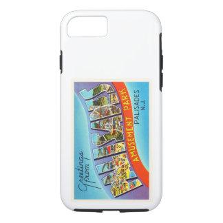 Palisades New Jersey NJ Vintage Travel Postcard- iPhone 7 Case