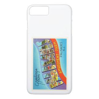 Palisades New Jersey NJ Vintage Travel Postcard- iPhone 7 Plus Case