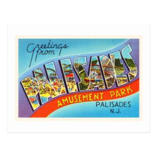 Palisades New Jersey NJ Vintage Travel Postcard- Postcard
