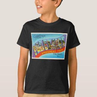 Palisades New Jersey NJ Vintage Travel Postcard- T-Shirt
