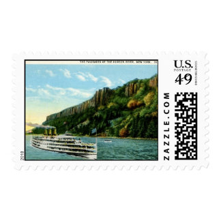 Palisades of the Hudson River, New York 1920s Vint Postage Stamps