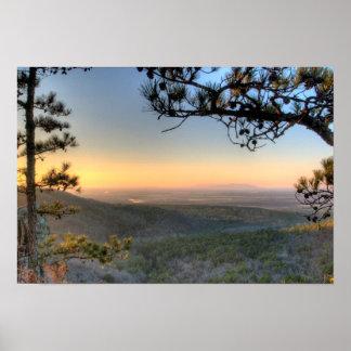Palisades Overlook, Petit Jean state park Arkansas Poster