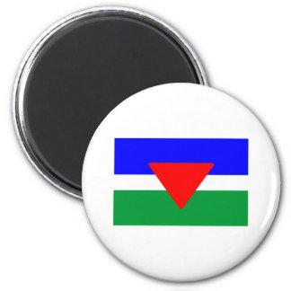 Palisra Flag 2 Inch Round Magnet