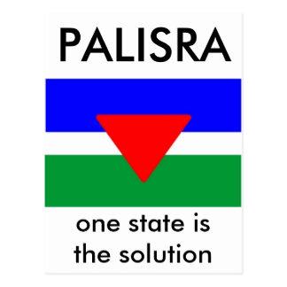 Palisra Flag - Customized Postcard