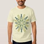 Palitroques verdes. Woman t-shirt Camisas