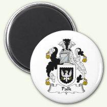 Palk Family Crest Magnet