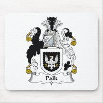 Palk Family Crest Mousepad