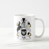 Palk Family Crest Mug