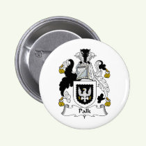 Palk Family Crest Button