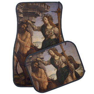 Pallas and the Centaur by Botticelli Car Floor Mat