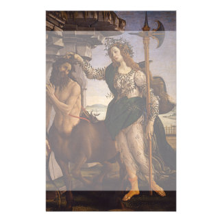 Pallas and the Centaur by Botticelli Full Color Flyer
