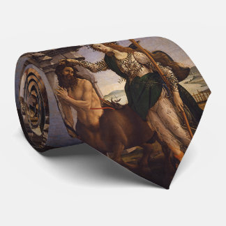Pallas and the Centaur by Botticelli Neck Tie