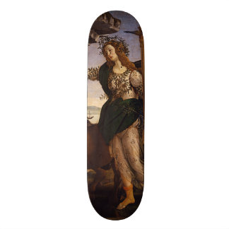 Pallas and the Centaur by Botticelli Skateboard Deck