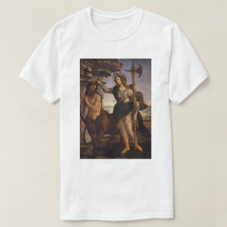 Pallas and the Centaur by Botticelli T-Shirt