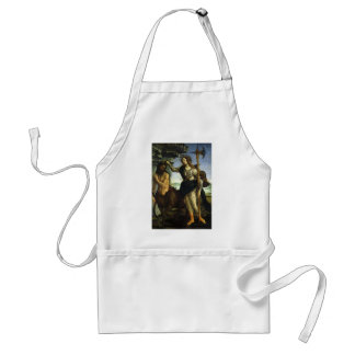 Pallas and the Centaur by Sandro Botticelli Adult Apron