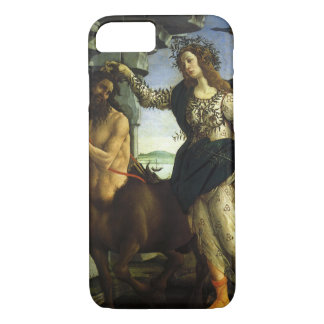 Pallas and the Centaur by Sandro Botticelli iPhone 8/7 Case