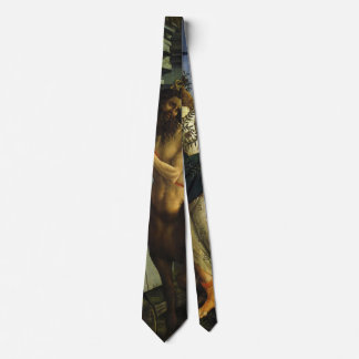 Pallas and the Centaur by Sandro Botticelli Neck Tie