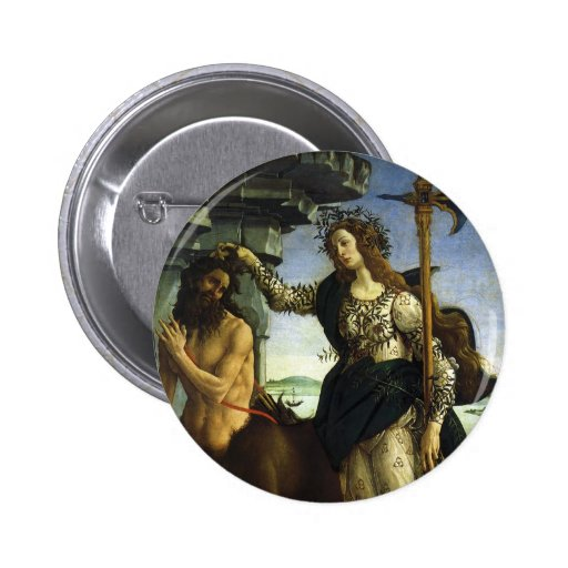 Pallas and the Centaur by Sandro Botticelli Pin