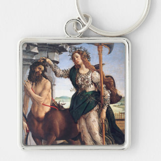 Pallas and the Centaur, Sandro Botticelli Keychain