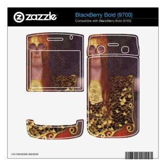 Pallas Athena by Gustav Klimt Decals For BlackBerry