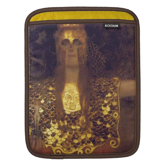 Pallas Athena by Gustav Klimt Sleeve For iPads