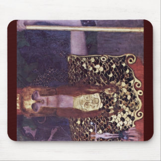 Pallas Athena By Klimt Gustav Mouse Pad