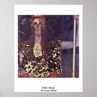 Pallas Athena de Gustavo Klimt Impresiones