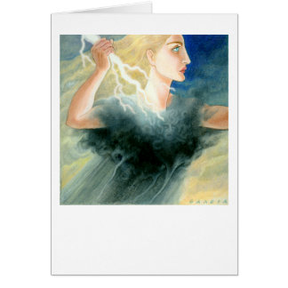 Pallas Athena Greeting Card