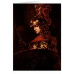 Pallas Athena o, figura acorazada, 1664-65 Felicitacion