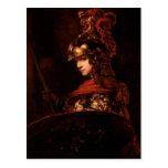 Pallas Athena o, figura acorazada, 1664-65 Postales