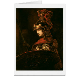 Pallas Athena or, Armoured Figure, 1664-65 Card