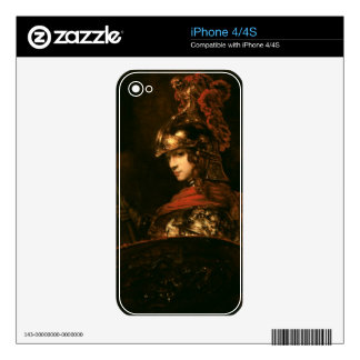 Pallas Athena or, Armoured Figure, 1664-65 iPhone 4 Decals